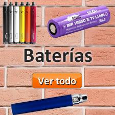 Baterías para cigarro electrónico