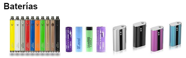 Baterías cigarro electrónico