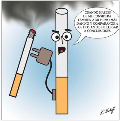 Cigarrillo electronico contraataca