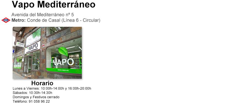 Vapo tienda Madrid