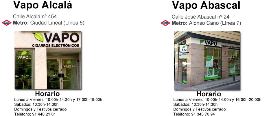 Vapo tienda cigarros electrónicos